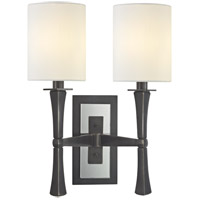 Hudson Valley Lighting York 2 Light Wall Sconce in Old Bronze 2112-OB