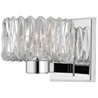 Hudson Valley Lighting Anson 1 Light Bath Vanity in Polished Chrome 2171-PC