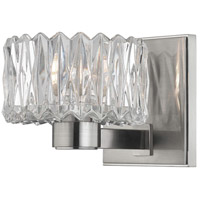 Anson 1 Light 6 inch Satin Nickel Bath Vanity Wall Light