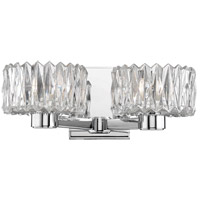 Anson 2 Light 13 inch Polished Chrome Bath Vanity Wall Light