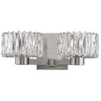 Anson 2 Light 13 inch Satin Nickel Bath Vanity Wall Light