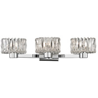 Anson 3 Light 20 inch Polished Chrome Bath Vanity Wall Light