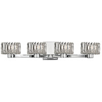 Anson 4 Light 27 inch Polished Chrome Bath Vanity Wall Light
