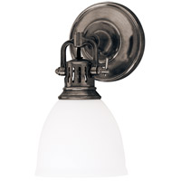 Hudson Valley 2201-HB Pelham 1 Light 6 inch Historic Bronze Wall Sconce Wall Light