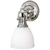 Hudson Valley Lighting Pelham 1 Light Wall Sconce in Polished Nickel 2201-PN