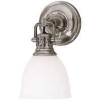 Hudson Valley Lighting Pelham 1 Light Wall Sconce in Satin Nickel 2201-SN
