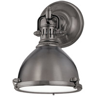 Hudson Valley 2209-HB Pelham 1 Light 8 inch Historic Bronze Wall Sconce Wall Light