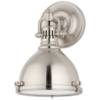 Hudson Valley Lighting Pelham 1 Light Wall Sconce in Satin Nickel 2209-SN