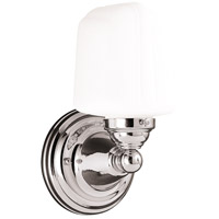 Edison 1 Light 5 inch Polished Nickel Bath And Vanity Wall Light