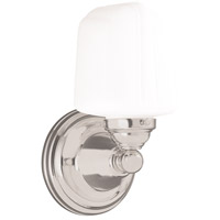Hudson Valley 221-SN Edison 1 Light 5 inch Satin Nickel Bath And Vanity Wall Light