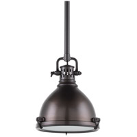 Hudson Valley Lighting Pelham 1 Light Pendant in Historic Bronze 2210-HB