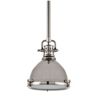Pelham 1 Light 8 inch Satin Nickel Pendant Ceiling Light