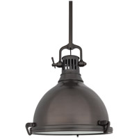 Hudson Valley Lighting Pelham 1 Light Pendant in Historic Bronze 2212-HB