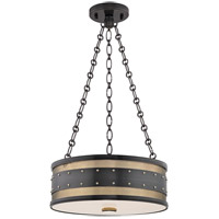 Hudson Valley Lighting Gaines 3 Light Flush Mount in Aged Old Bronze 2216-AOB