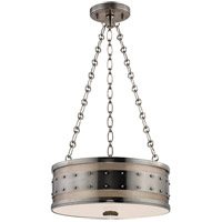 Gaines 3 Light 16 inch Historic Nickel Pendant Ceiling Light