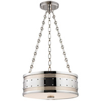 Hudson Valley Lighting Gaines 3 Light Pendant in Polished Nickel 2216-PN