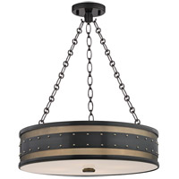 Hudson Valley Lighting Gaines 4 Light Pendant in Aged Old Bronze 2222-AOB