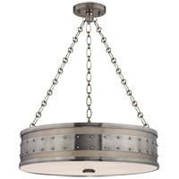 Hudson Valley Lighting Gaines 4 Light Pendant in Historic Nickel 2222-HN