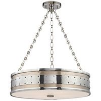 Hudson Valley Lighting Gaines 4 Light Pendant in Polished Nickel 2222-PN