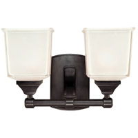 Hudson Valley Lighting Lakeland 2 Light Bath And Vanity in Old Bronze 2242-OB