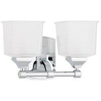 Hudson Valley 2242-PC Lakeland 2 Light 13 inch Polished Chrome Bath And Vanity Wall Light