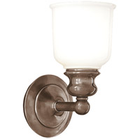 Hudson Valley 2301-AN Riverton 1 Light 5 inch Antique Nickel Bath And Vanity Wall Light
