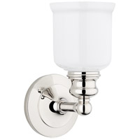 Hudson Valley 2301-PN Riverton 1 Light 5 inch Polished Nickel Bath And Vanity Wall Light