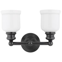 Riverton 2 Light 14 inch Old Bronze Bath And Vanity Wall Light