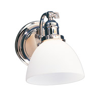 Hudson Valley Lighting Morgan 1 Light Bath And Vanity in Polished Chrome 231-PC-823