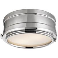 Hudson Valley 2311-PN Rye 2 Light 11 inch Polished Nickel Flush Mount Ceiling Light