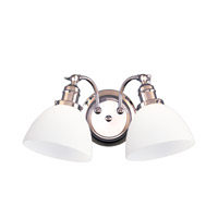 Hudson Valley Lighting Morgan 2 Light Bath And Vanity in Polished Chrome 232-PC-823