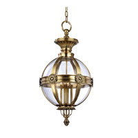 Marietta 4 Light 21 inch Aged Brass Pendant Ceiling Light