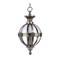Marietta 4 Light 21 inch Aged Silver Pendant Ceiling Light