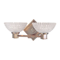 Buchanan 2 Light 14 inch Brushed Bronze Bath And Vanity Wall Light