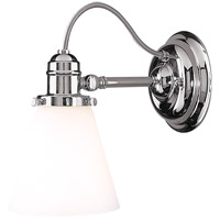 Hudson Valley 2341-PN Hadley 1 Light 5 inch Polished Nickel Bath And Vanity Wall Light