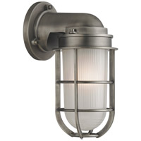 Hudson Valley Lighting Carson 1 Light Wall Sconce in Antique Nickel 240-AN