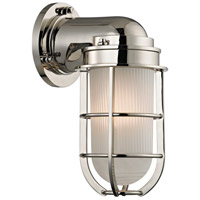 Hudson Valley Lighting Carson 1 Light Wall Sconce in Polished Nickel 240-PN