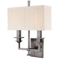 Hudson Valley Lighting Berwick 2 Light Wall Sconce in Antique Nickel 242-AN