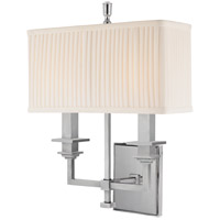 Hudson Valley Lighting Berwick 2 Light Wall Sconce in Polished Nickel 242-PN