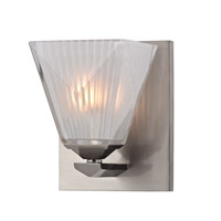 Hammond 1 Light 4 inch Satin Nickel Bath Vanity Wall Light