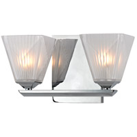 Hudson Valley Lighting Hammond 2 Light Bath Vanity in Polished Chrome 2432-PC