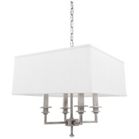 Hudson Valley Lighting Berwick 4 Light Chandelier in Antique Nickel 244-AN