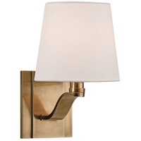 Hudson Valley Lighting Clayton 1 Light Wall Sconce in Aged Brass 2461-AGB