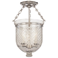 Hudson Valley Lighting Hampton 3 Light Semi Flush in Polished Nickel 251-PN-C2