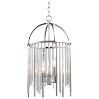 Lewis 4 Light 13 inch Polished Nickel Pendant Ceiling Light