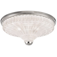 Paris 3 Light 17 inch Polished Nickel Flush Mount Ceiling Light