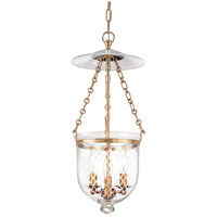 Hudson Valley 252-AGB-C2 Hampton 3 Light 10 inch Aged Brass Pendant Ceiling Light in C2