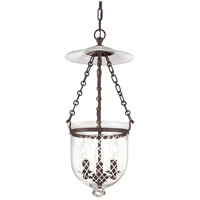 Hampton 3 Light 10 inch Old Bronze Pendant Ceiling Light in C2