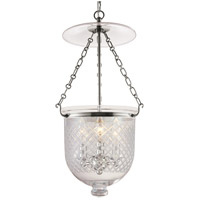 Hampton 3 Light 12 inch Polished Nickel Pendant Ceiling Light in C2