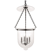 Hampton 4 Light 15 inch Historic Nickel Pendant Ceiling Light in C1